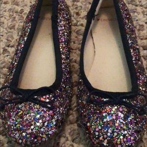 Crewcuts glitter shoes